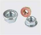 Din6923 Hex Flange Nut with or without Serration under head