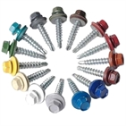 Roofing screws Powder Painted hex head self drilling screws supplier